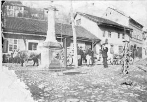 Ракијски пијац, Јовановића кафана