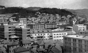 Панорама града и део Царине
